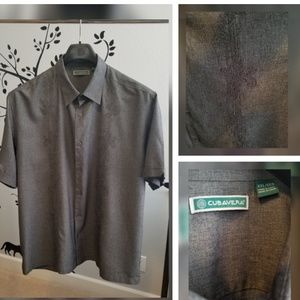 Men's Cubavera Button Down Shirt XXL